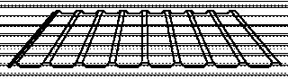 Tablă cutată T18