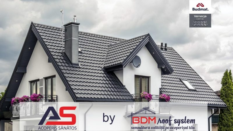 tigla metalica bdm roof system acoperis sanatos