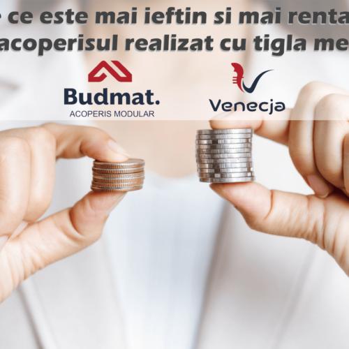 De ce este mai ieftin si mai rentabil sa ai casa acoperita cu tigla metalica Budmat Venecja?