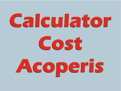 Calculator Cost Acoperis